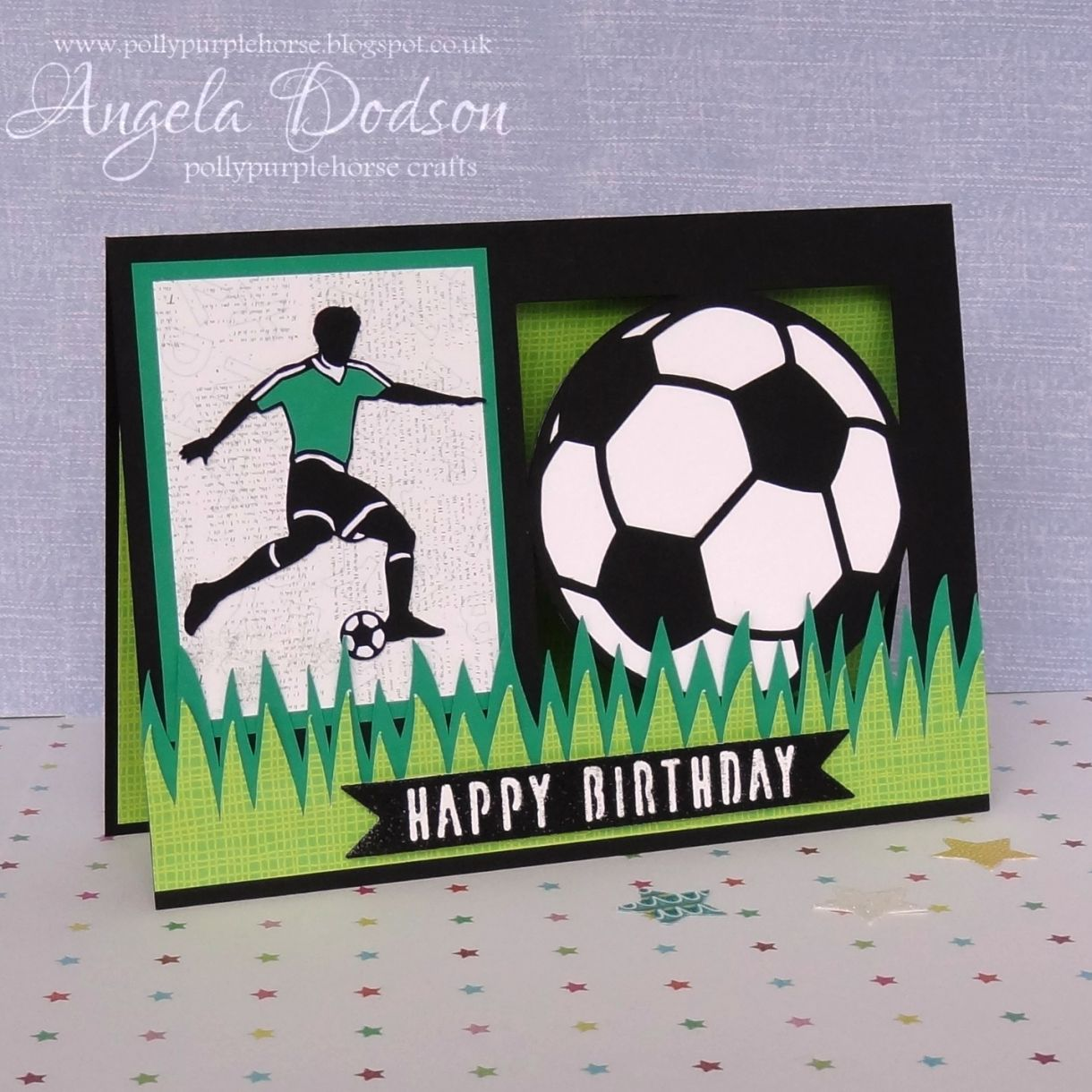 Make A Football Themed Birthday Card