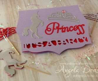It's A Party!  - DIY Princess Party Invitation