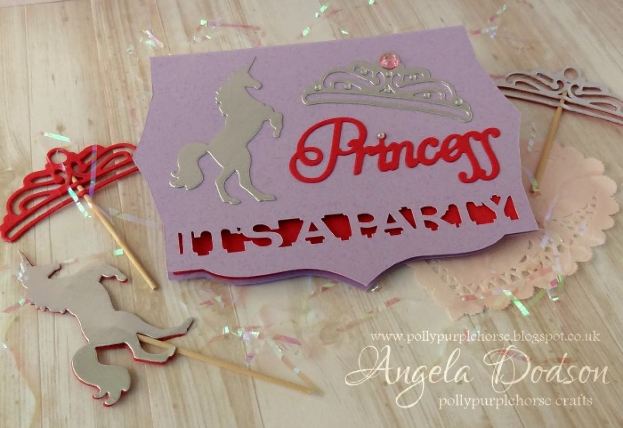It\'s A Party! - DIY Princess Party Invitation