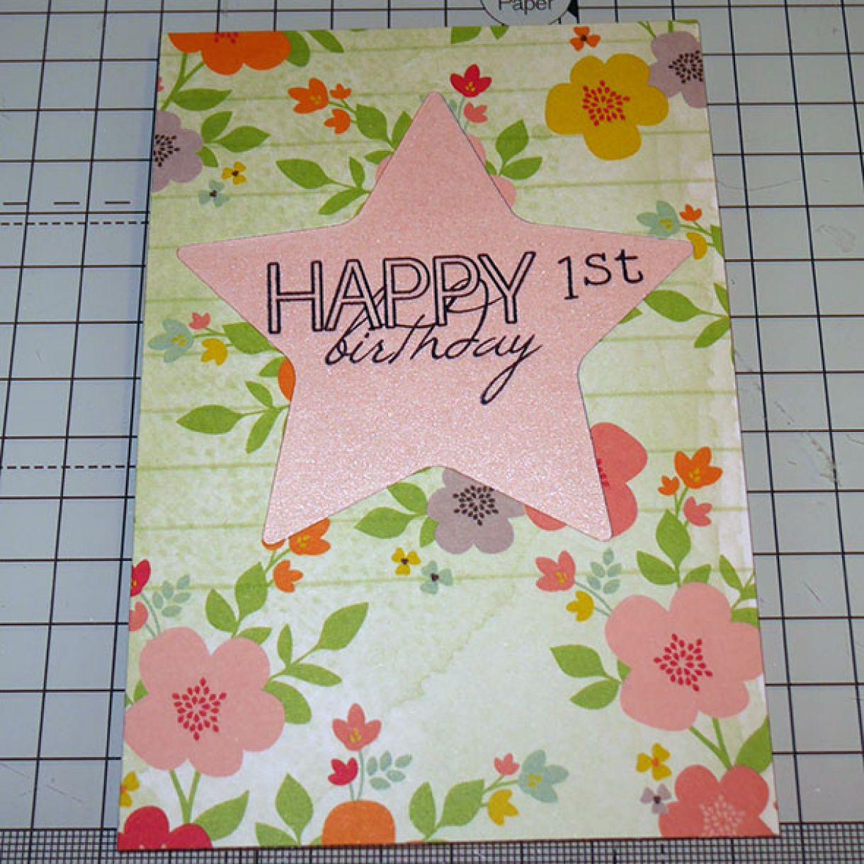 1St Birthday Card Nm 3