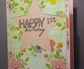 Special 1st Birthday Card