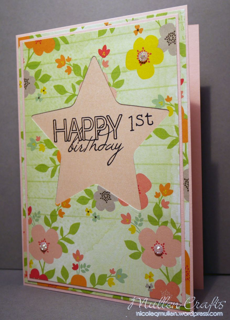 1St Birthday Card Nm 4