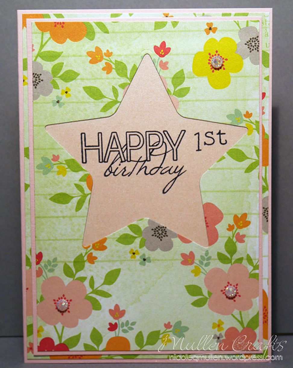 1St Birthday Card Nm 5