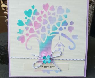 Video Tutorial from Christine at Hope and Chances Creativity