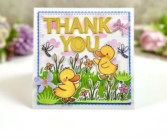 Thank You Duck Card