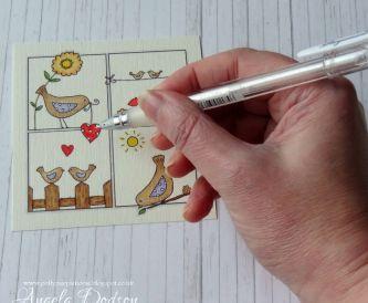 Sending Love…Valentines Card Step by Step