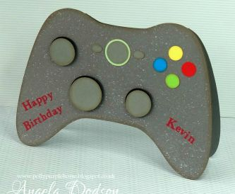 Game Controller Birthday Card
