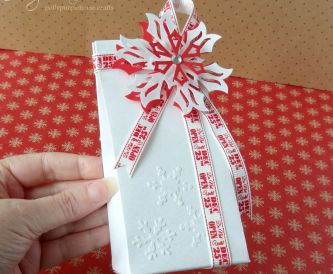 Christmas Snowflake Gift bag