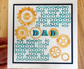 Fathers Day Card - Step By Step Tutorial
