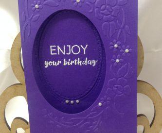 Three Card Designs from June Fletcher at Poppyfield Card Crafts