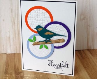 Heartfelt Thanks Card - Step By Step Tutorial
