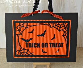 Trick Or Treat decoration