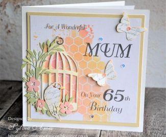 Keepsake Birthday Card and Box