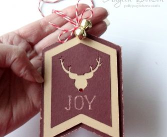 JOY Christmas Gift Tag
