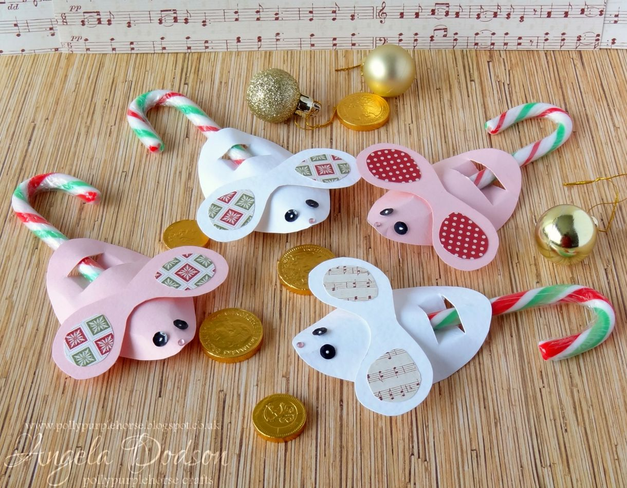 candy cane mice a simple idea for children u0027s christmas crafting