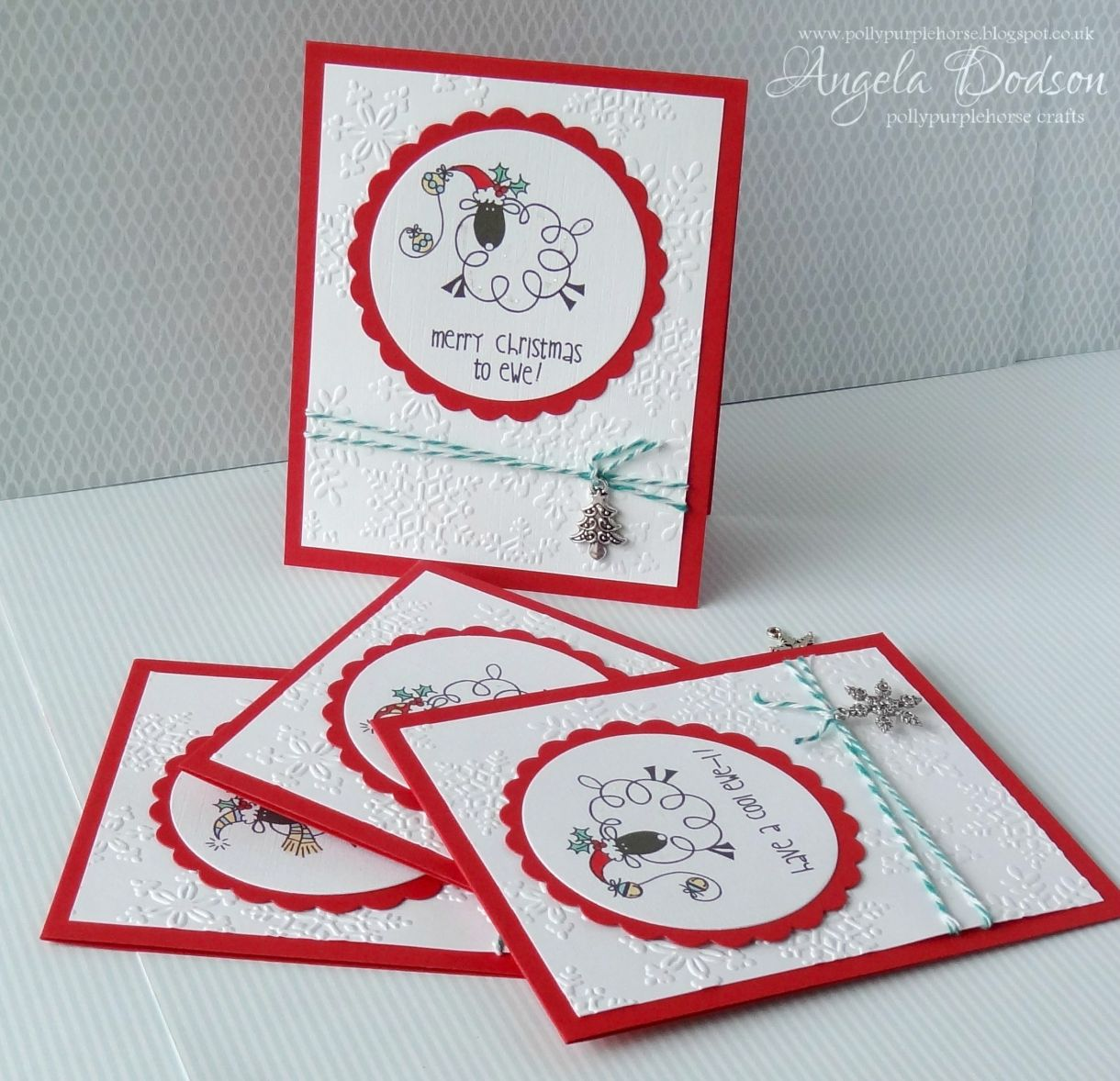 Easy Christmas Cards Designs.Easy Christmas Cards Batch Making How To