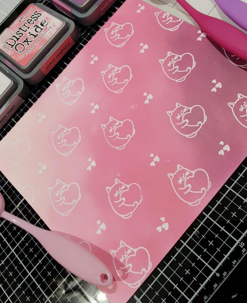 Apb Galentines Day Ink Background Close Up