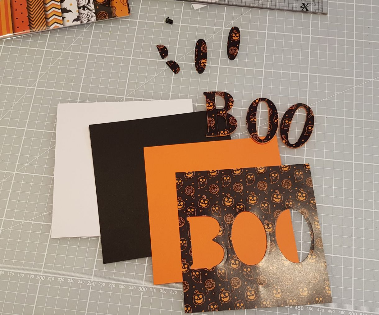 Boo Eclipse Card Layering