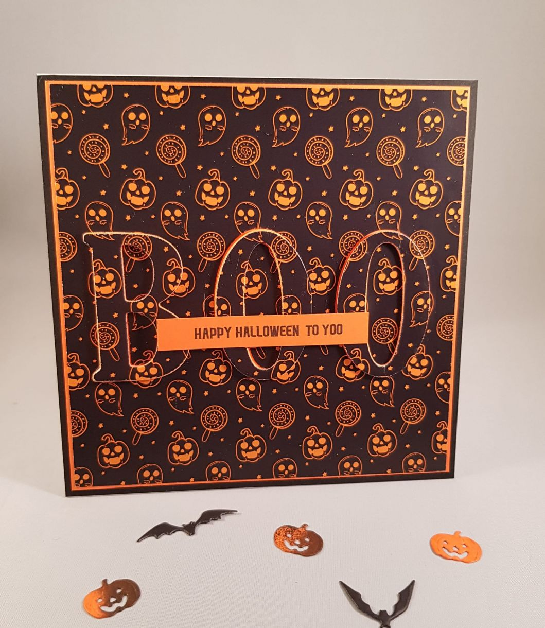 Completed BOO Eclipse Card