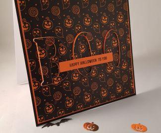 Boo! Happy Halloween to Yoooou Eclipse Card