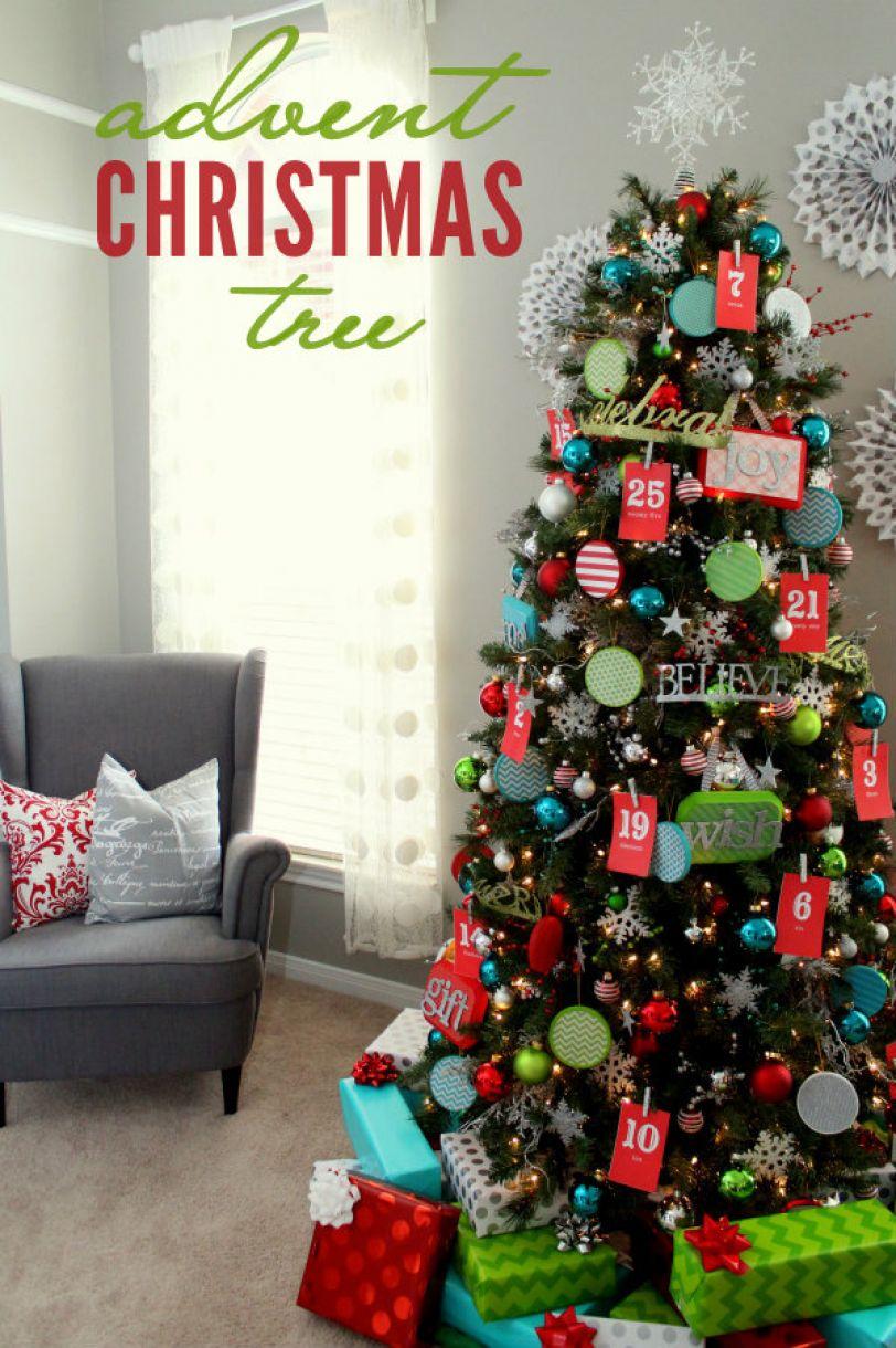Advent  Christmas  Tree  The Kids Will Love This Lilluna Com 11