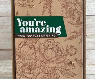 A FLORAL THANK YOU
