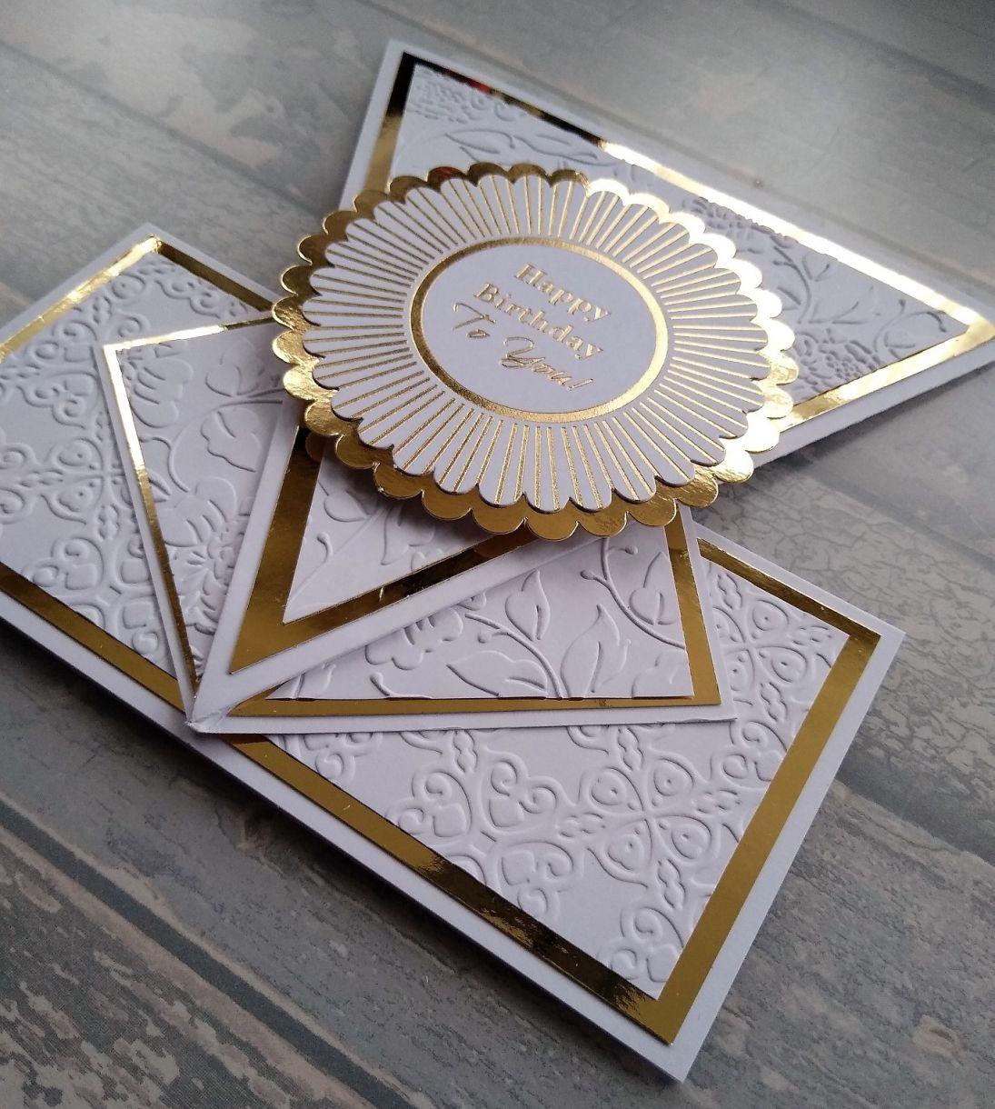 Arrow Fold Card 3