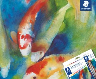 Papermilldirect has teamed up with Staedtler to give away a bumper watercolour bundle!