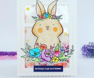 Bunny Birthday Hugs
