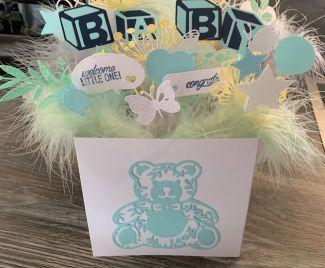 Beautiful Baby Box Card