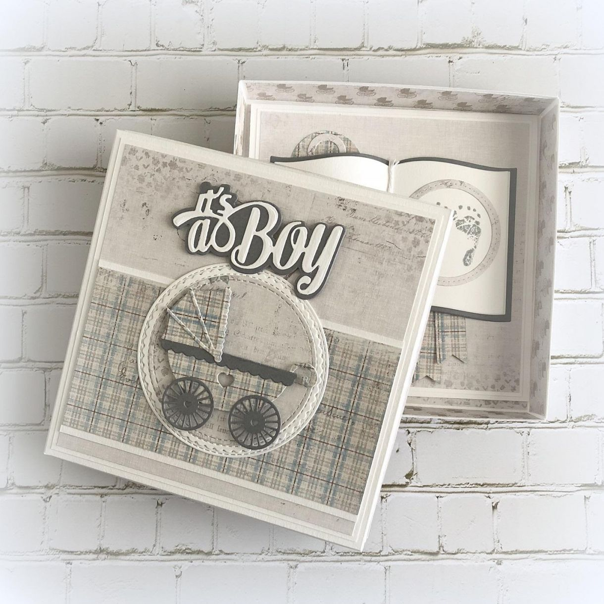 Baby Boy Card Box 1