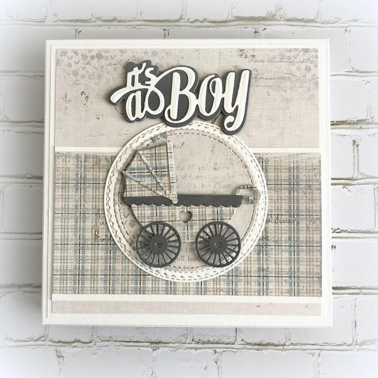 Baby Boy Card Box