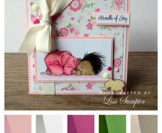 Project - New Baby Handmade Card Idea
