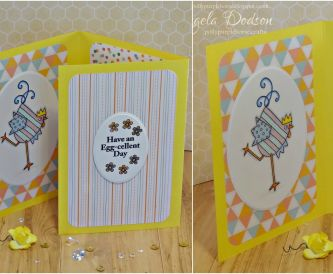 Happy Easter Tri-Fold Card – Step by Step