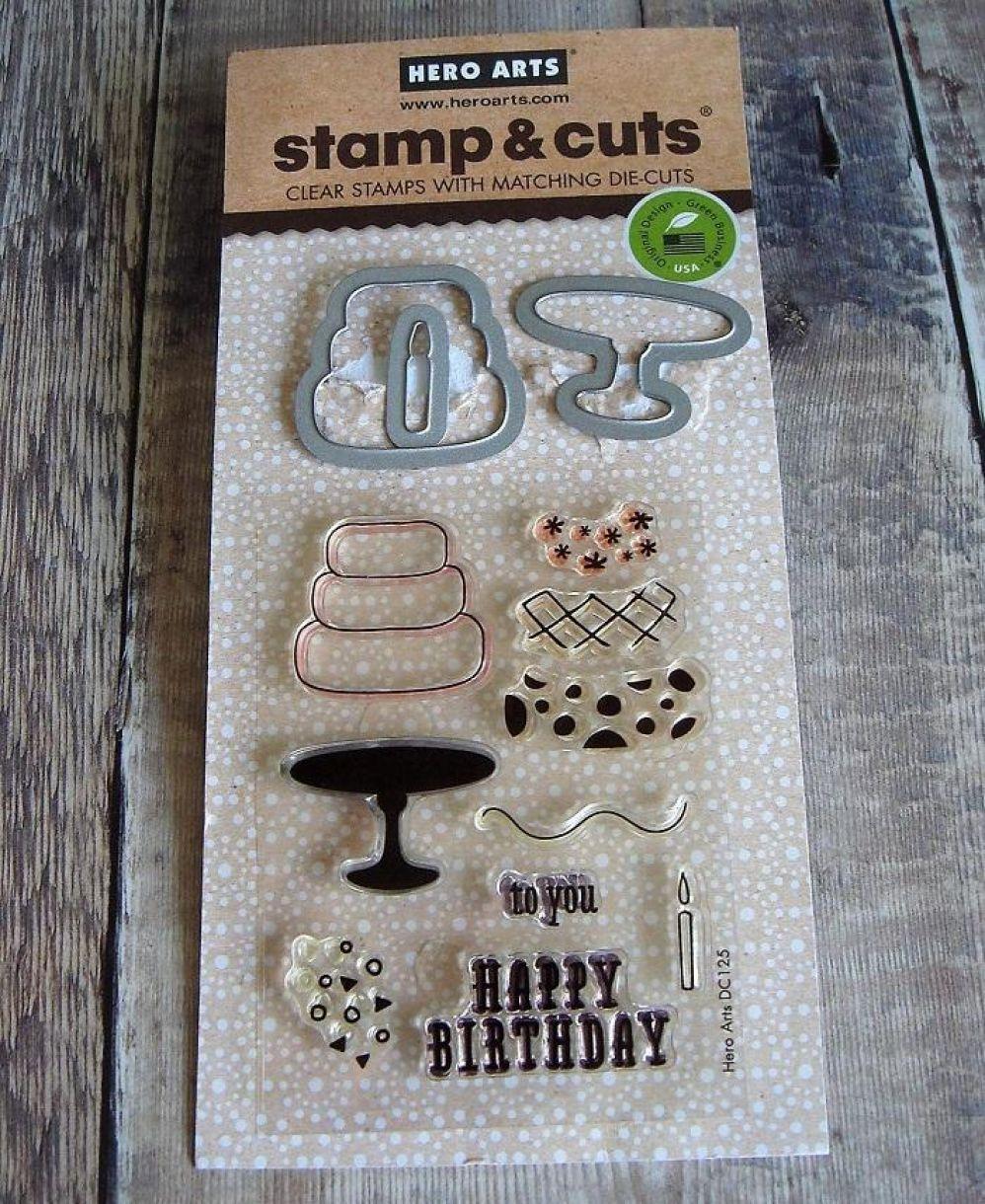 Birthday Cake Die Cut Card 2