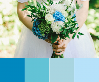 Trending Wedding Colours of 2018