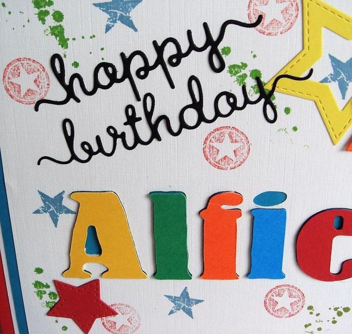 Bright Birthday Card For A Boy 2