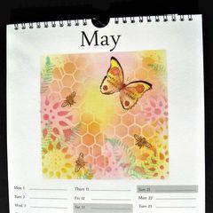 Calendar Page May Spring
