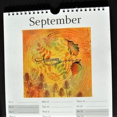 Calendar Page September Autumn