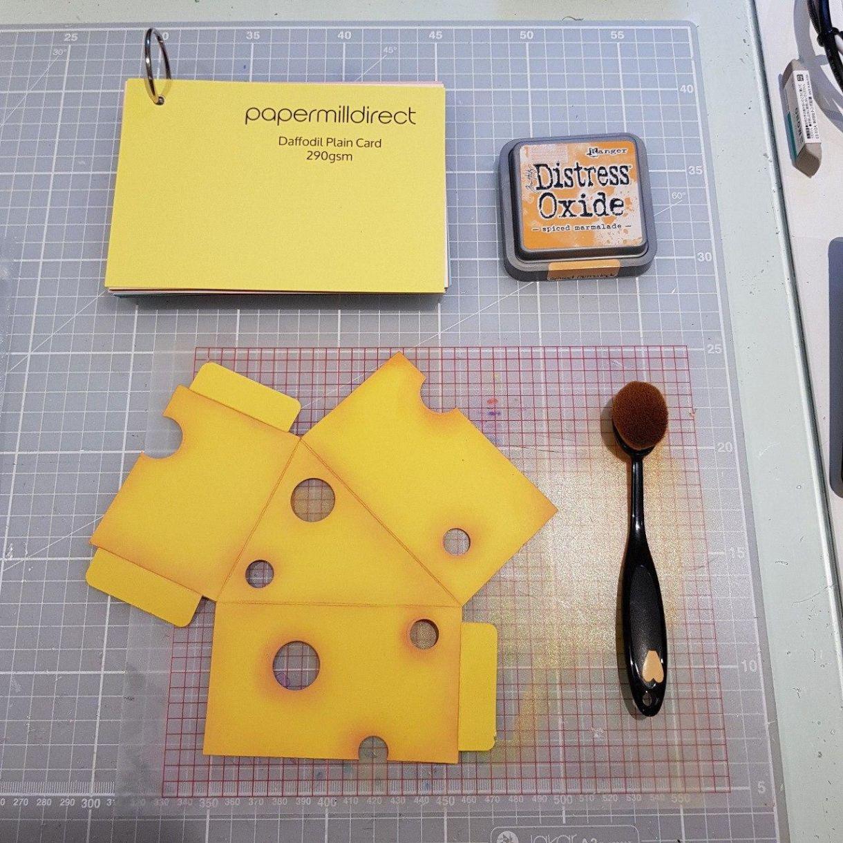 Cheese Wedge Inking