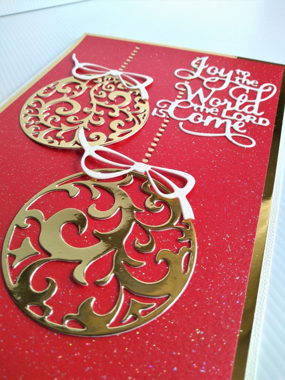 Christmas Bauble Card 16 Oct 2019 1