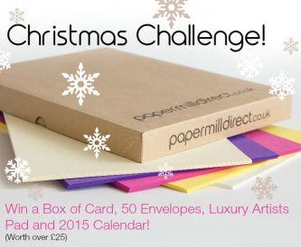 Christmas Gift Tag Challenge!