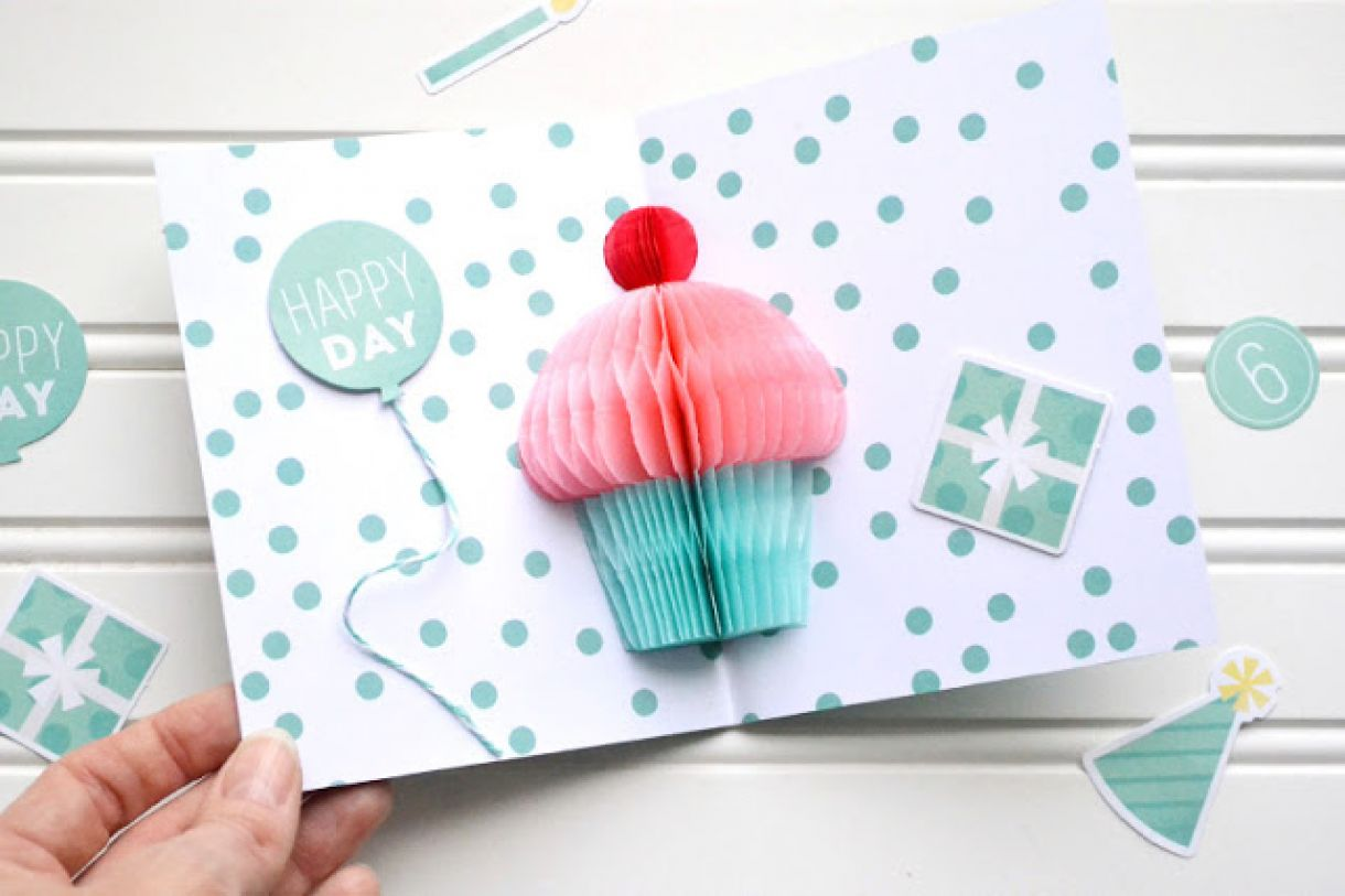 Diy Party Birthday Card By Aly Dosdall 3