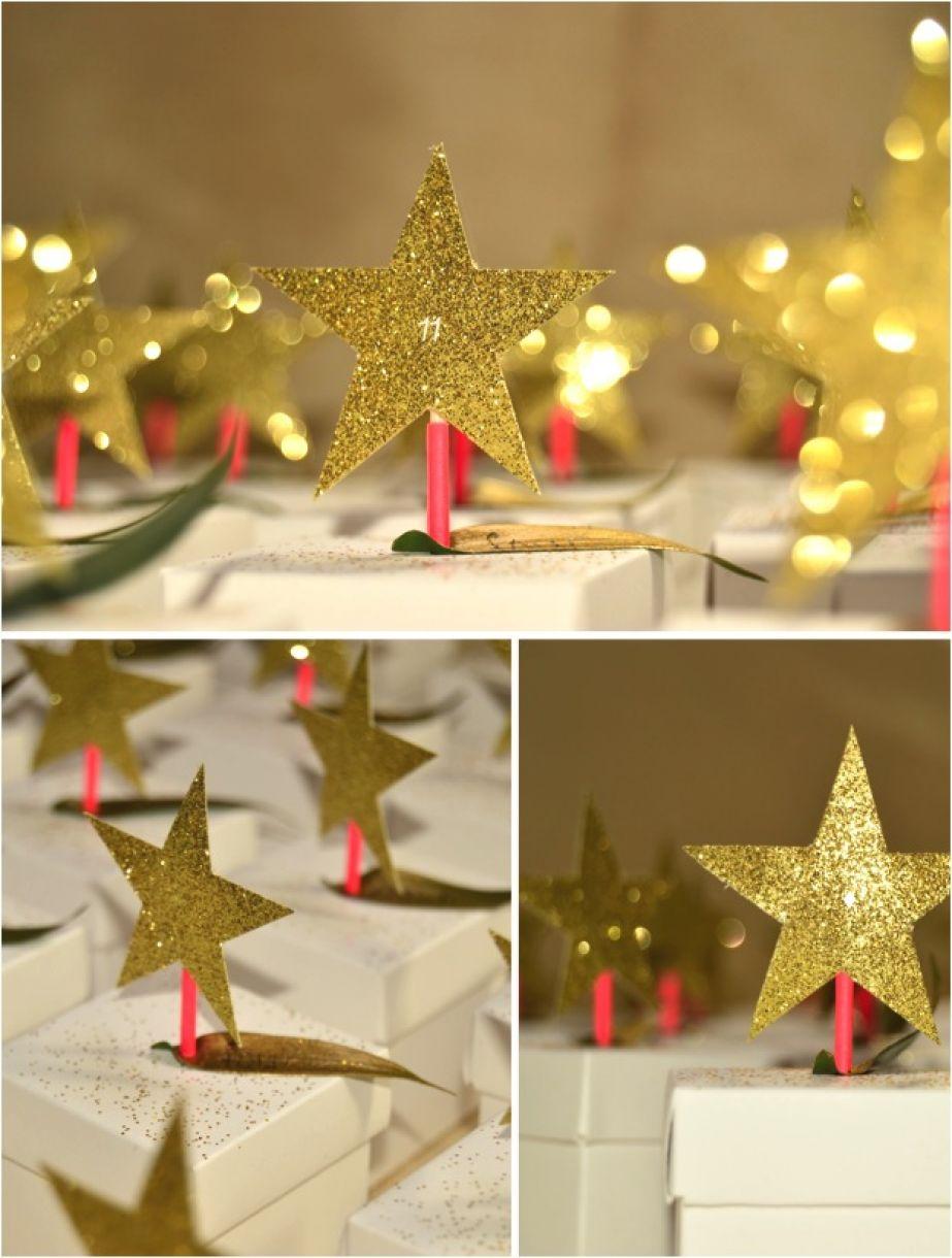 Diy Gold Star Advent Calendar