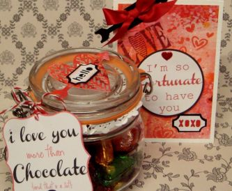 Free Valentine Printables - Tags for gifts or cardmaking