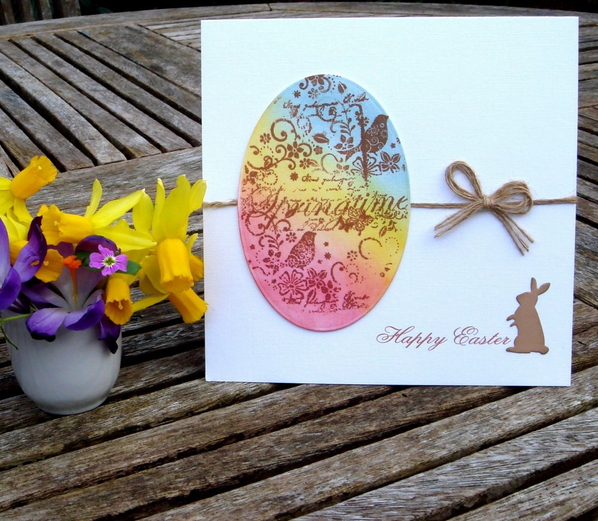 Quick and easy easter card m4hsunfo
