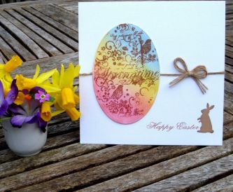 Quick and easy Easter Card