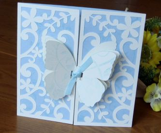 Lacey Gatefold Card