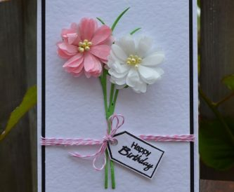 How to make a batch of cards using ONE die…...and a few embellishments.