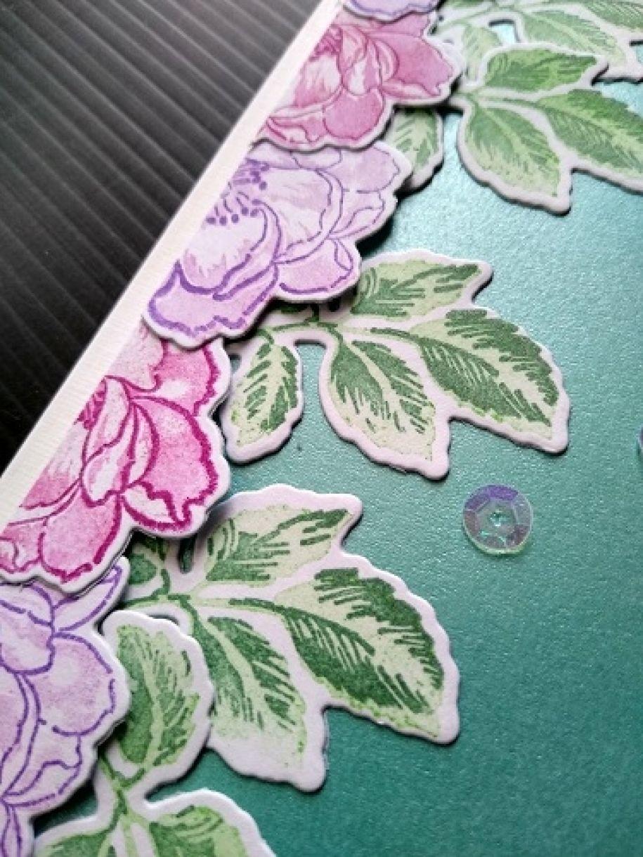 Die Cut Flower Cards Anniversay 3